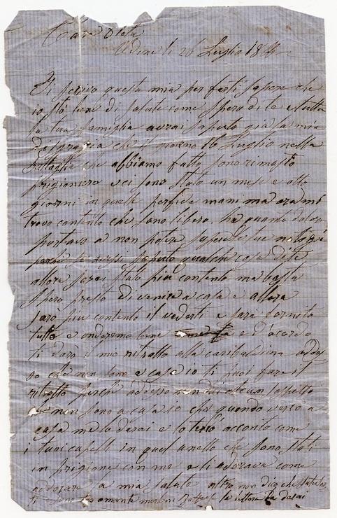 lettera 740