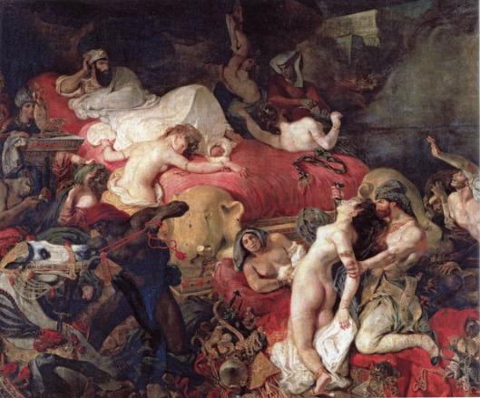 8.mort de sardanapale