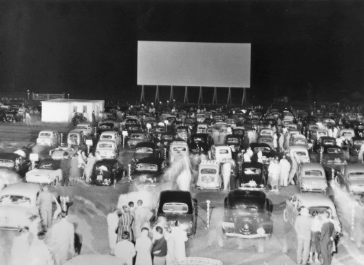 Drive-In Movie-Goers
